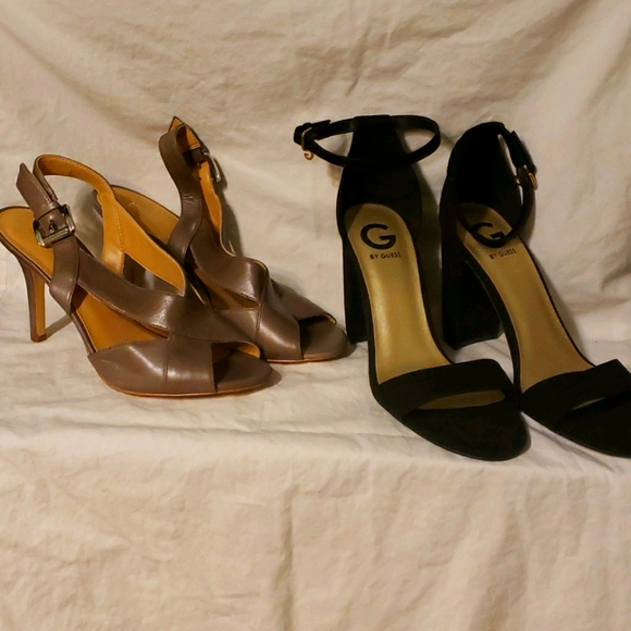 Two pair of heels 1.) Micheal Kors & 2.)Guess